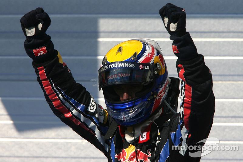 Mark Webber, ganador del GP de Hungría 2010