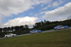 Andy Priaulx BMW Team RBM BMW 320si, Robert Huff Chevrolet, Chevrolet Cruze LT, Alain Menu Chevrolet, Chevrolet Cruze LT