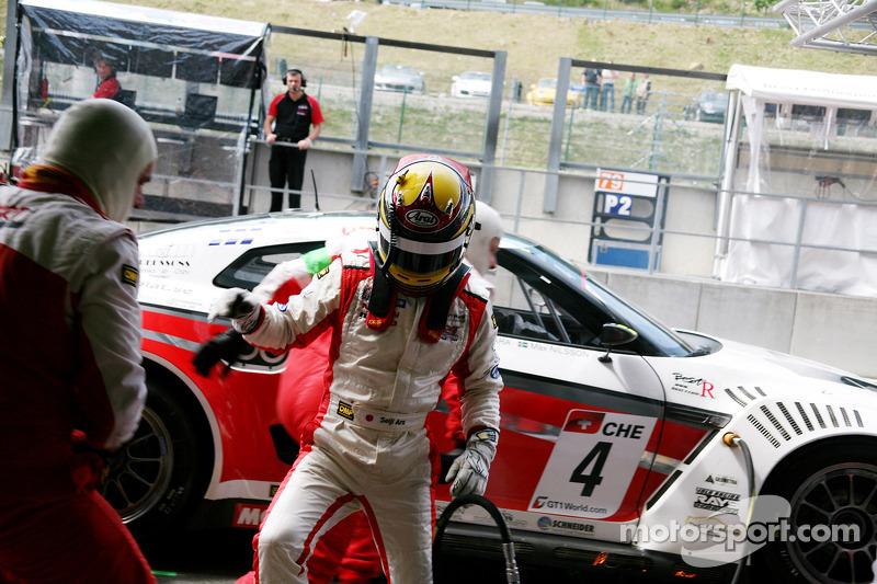 Pitstop #4 Swiss Racing Team Nissan GT-R: Seiji Ara, Max Nilsson