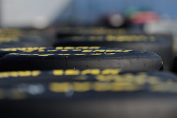 Tires in the Sprint Cup garage