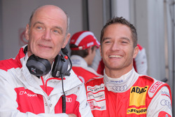 Dr. Wolfgang Ullrich, Audi Chef du sport et Timo Scheider, Audi Sport Team Abt