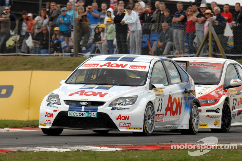 Tom Chilton voor Gordon Shedden