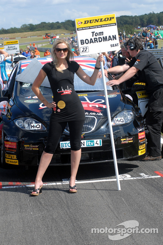 Tom Boardman's gridgirl