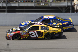 Jeff Burton, Richard Childress Racing Chevrolet and Martin Truex Jr., Michael Waltrip Racing Toyota