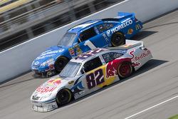 Scott Speed, Red Bull Racing Team Toyota, Jamie McMurray, Earnhardt Ganassi Racing Chevrolet