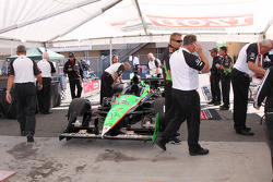 Car of Danica Patrick, Andretti Autosport at technical inspection
