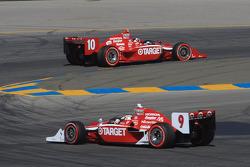 Dario Franchitti, Target Chip Ganassi Racing, Scott Dixon, Target Chip Ganassi Racing