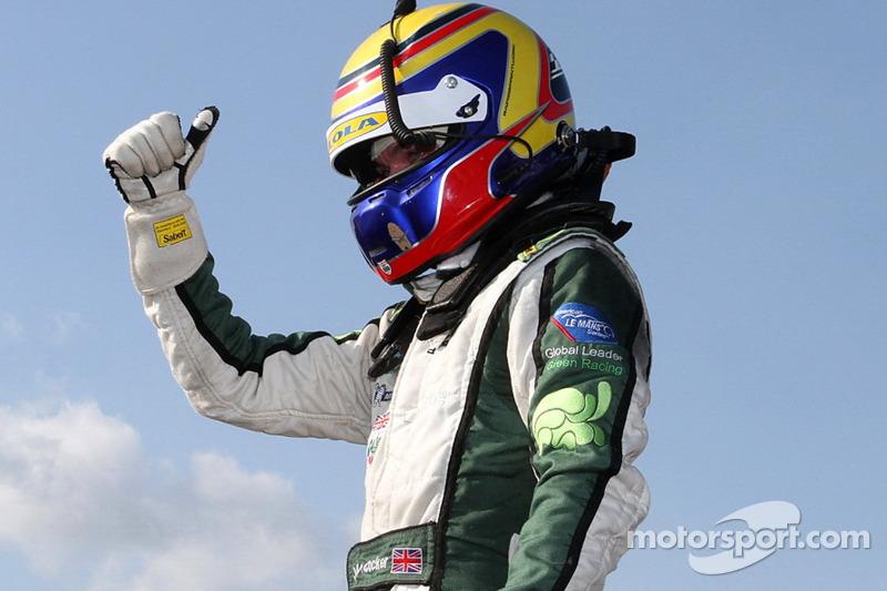 Race winnaar Jonny Cocker