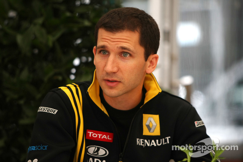 Remi Taffin, race engineer Renault F1 Team