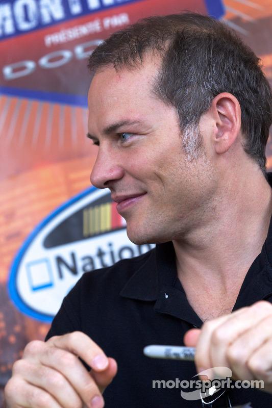 NASCAR Nationwide Series rijder Jacques Villeneuve