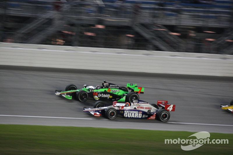 Danica Patrick, Andretti Autosport en Dan Wheldon, Panther Racing