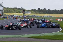 Felipe Nasr leads a group