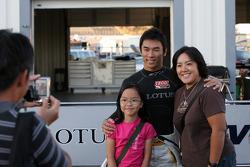 Takuma Sato, KV Racing Technology and fans