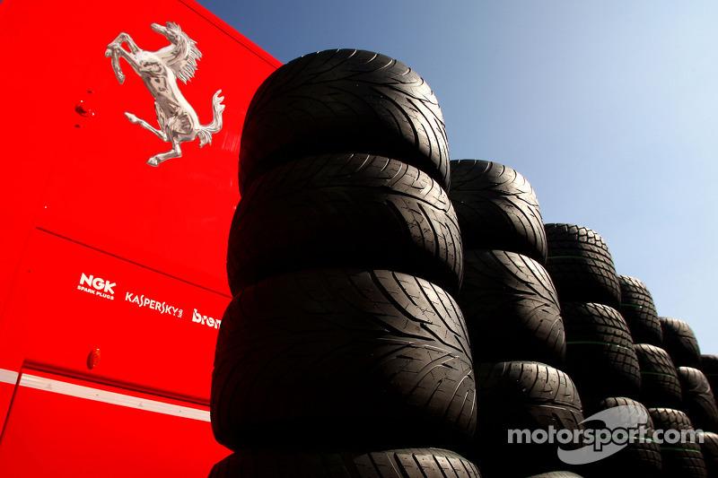 Tyres for Scuderia Ferrari