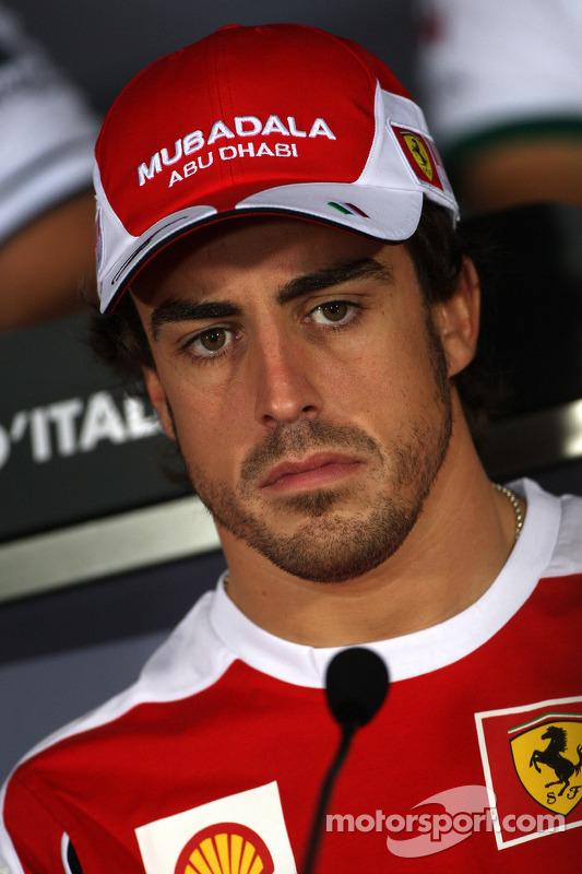 Persconferentie donderdag: Fernando Alonso, Scuderia Ferrari