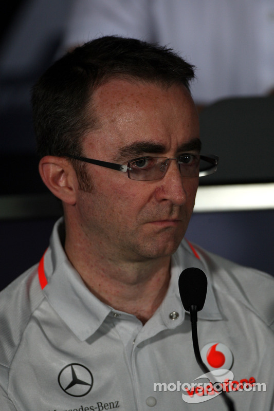 Friday press conference: Paddy Lowe, McLaren Engineering Director