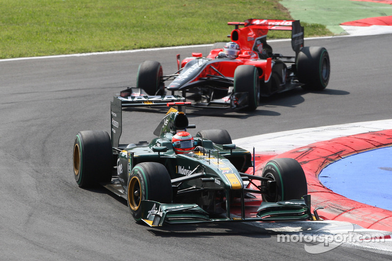 Ярно Труллі, Lotus Cosworth