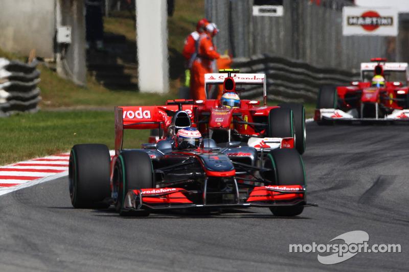 Дженсон Баттон, McLaren Mercedes