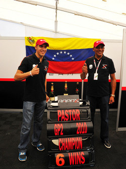 Pastor Maldonado is crowned 2010 GP2 champion