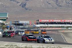 #48 Fall-Line Motorsports BMW M3 Coupe: Charles Espenlaub, Charles Putman, #16 Multimatic Motorsports Mustang Boss 302R: Gunnar Jeannette, Frankie Montecalvo