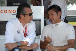 Eric Bachelart en Roger Yasukawa, Conquest Racing