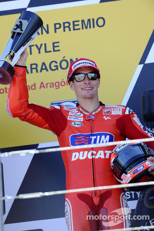 Podium: 3de Nicky Hayden, Ducati Marlboro Team
