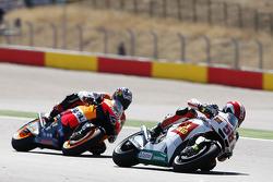 Marco Simoncelli, San Carlo Honda Gresini y Andrea Dovizioso, Repsol Honda Team