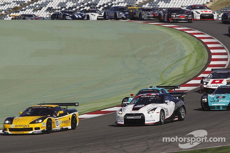 Start: #13 Phoenix Racing / Carsport Corvette Z06: Marc Hennerici, Alexandros Margaritis