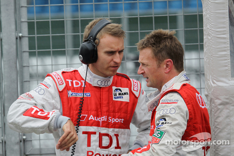 Timo Bernhard en Allan McNish