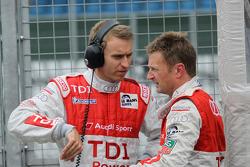 Timo Bernhard and Allan McNish