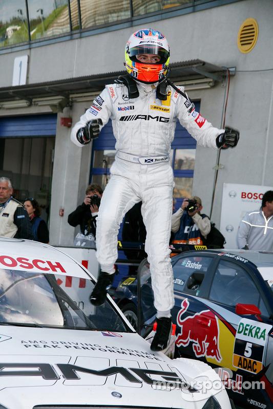 Race winnaar Paul di Resta, Team HWA AMG Mercedes