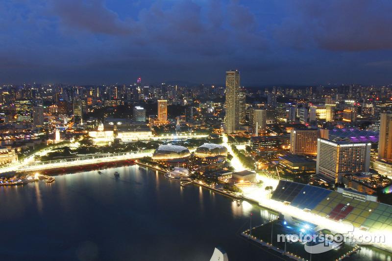 De stad: Skyline en the Marina Bay Street Circuit