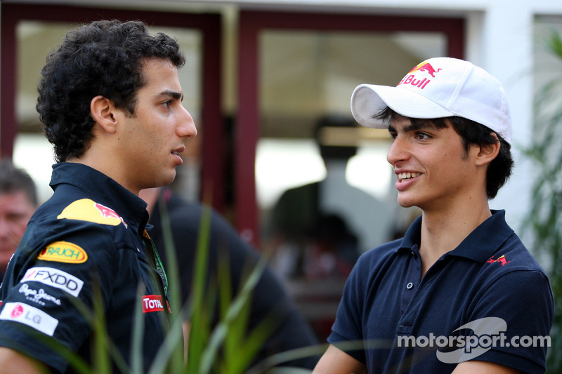Daniel Ricciardo, Red Bull Racing, Carlos Sainz Jr.