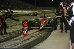 Pit stop for Marco Andretti, Andretti Autosport
