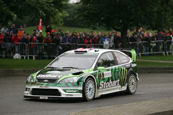 Matthew Wilson y Scott Martin, Ford Focus RS WRC 08, Stobart VK M-Sport Ford Rally Team