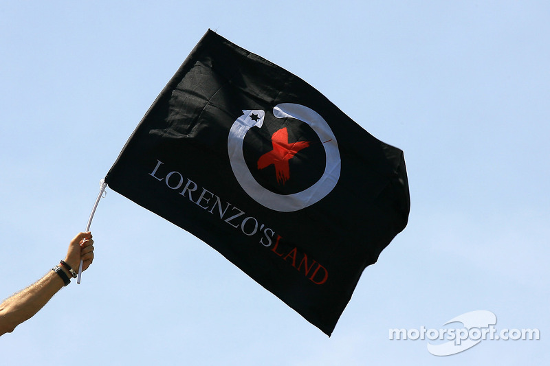 Lorenzo Land Flag at Malaysian GP