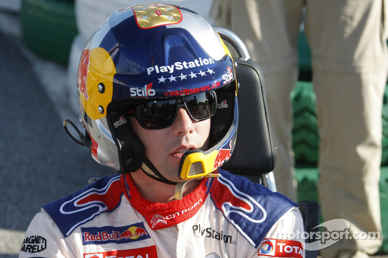 Rally Catalunya karting race: winnaar Sébastien Loeb