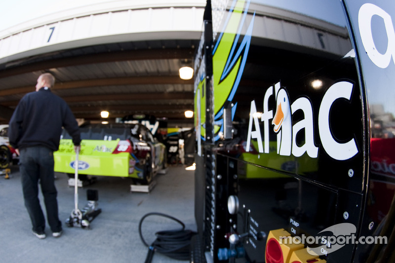 Roush Fenway Racing Ford garage
