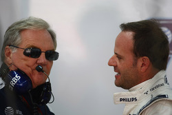 Patrick Head, WilliamsF1 Team, Direktör, mühendising ve Rubens Barrichello, Williams F1 Team