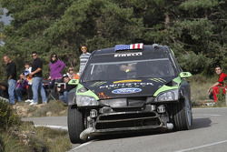Ken Block et Alex Gelsomino, Ford Focus WRC 08, Monster World Rally Team