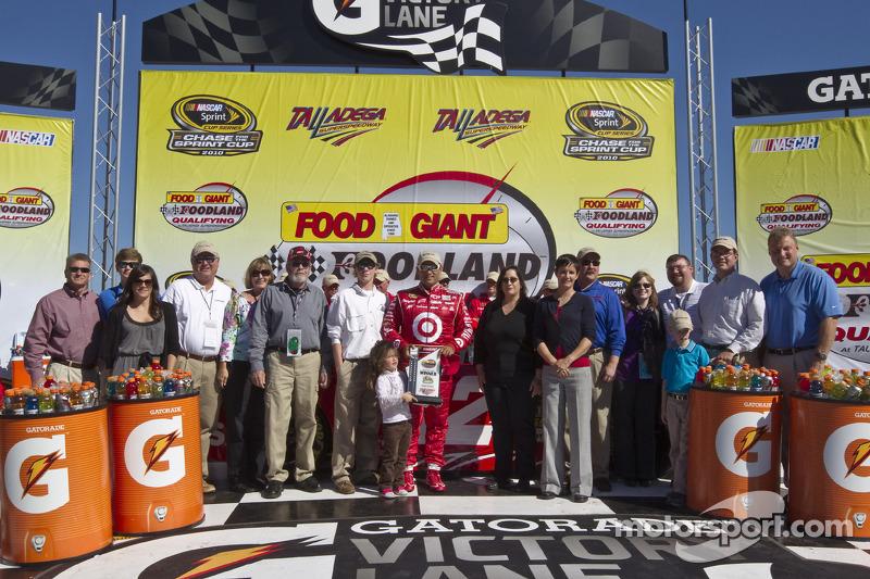 Polepositie Juan Pablo Montoya, Earnhardt Ganassi Racing Chevrolet