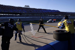 Pit stop for Chris Fontaine