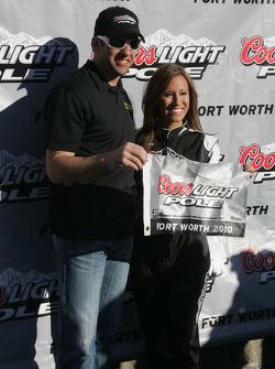 Pole winner Elliott Sadler, Richard Petty Motorsports Ford
