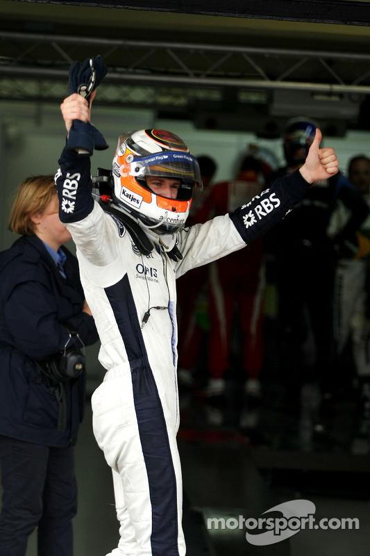 Polepositie Nico Hulkenberg, Williams F1 Team