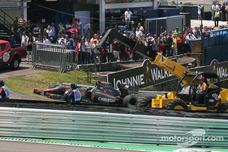 Christian Klien, testrijder, Hispania Racing F1 Team keert terug naar de pits