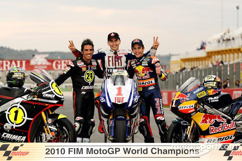 2010 - чемпіон світу у класі 125cc