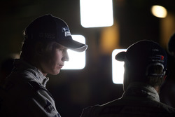 Nico Hulkenberg, Williams F1 Team en Rubens Barrichello, Williams F1 Team