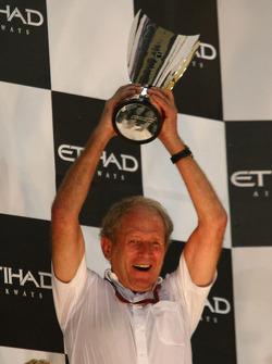 Podium: Helmut Marko, Red Bull Racing, Red Bull Advisor