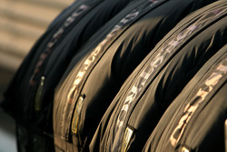 Scuderia Ferrari spare tyres