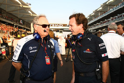 Patrick Head, WilliamsF1 Team, Direktör, mühendising ve Christian Horner, Red Bull Racing, Direktör